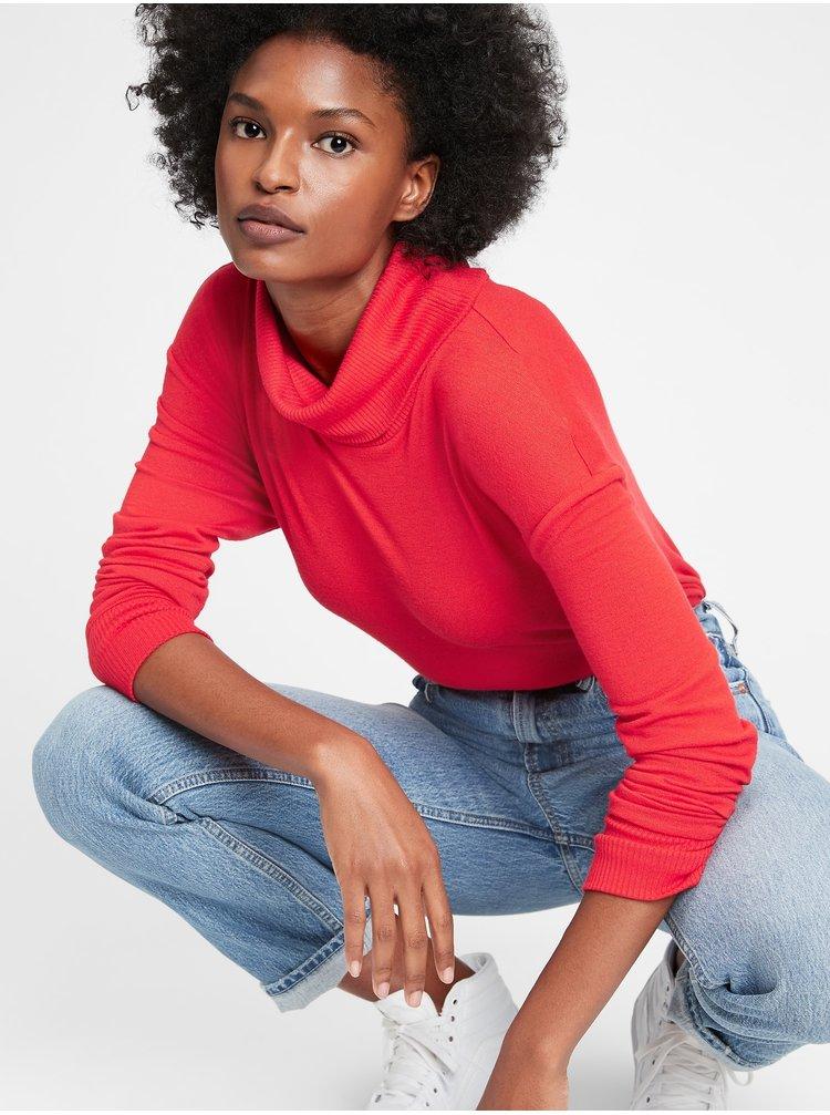 Červený dámský svetr GAP