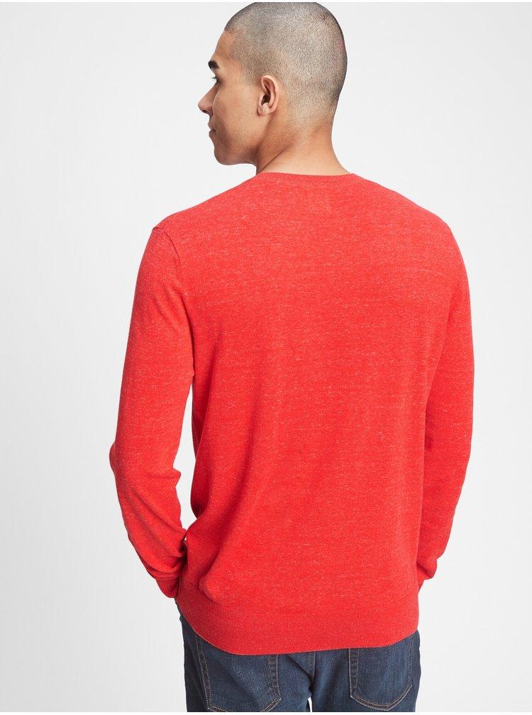 Červený pánsky sveter GAP