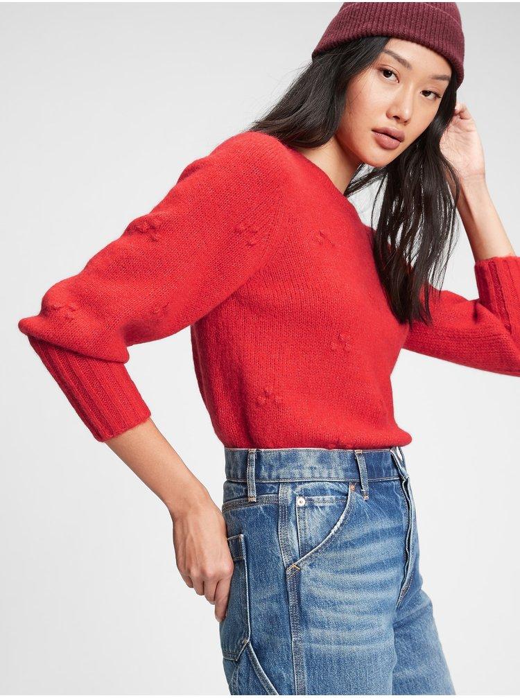 Červený dámsky sveter GAP
