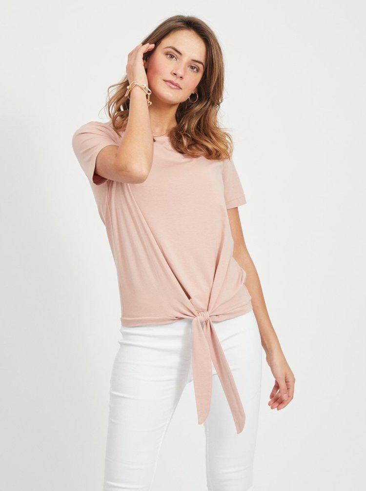 Ružové tričko so zaväzovaním .OBJECT