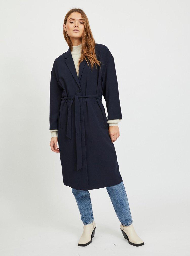 Tmavě modrý lehký kabát .OBJECT