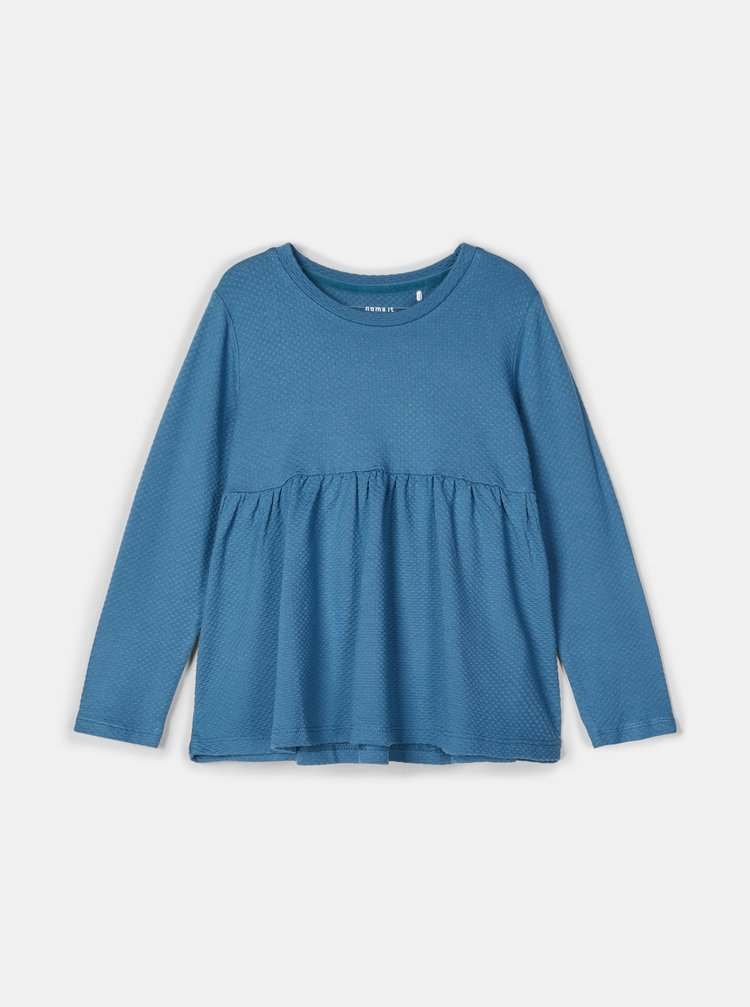 Modré dievčenské tričko name it