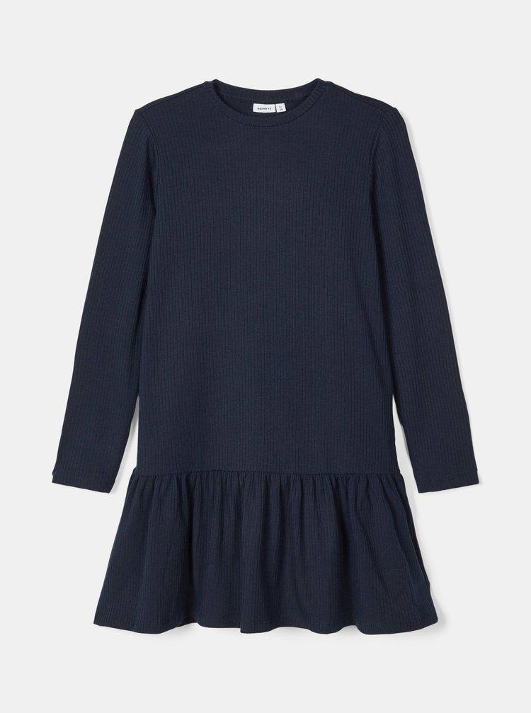 Tmavě modré holčičí šaty name it
