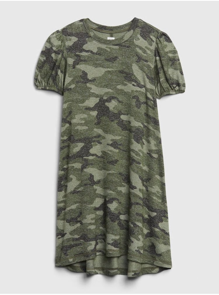 Zelené holčičí šaty GAP