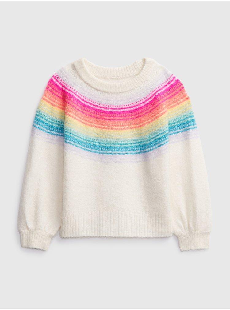 Smotanový dievčnský sveter GAP