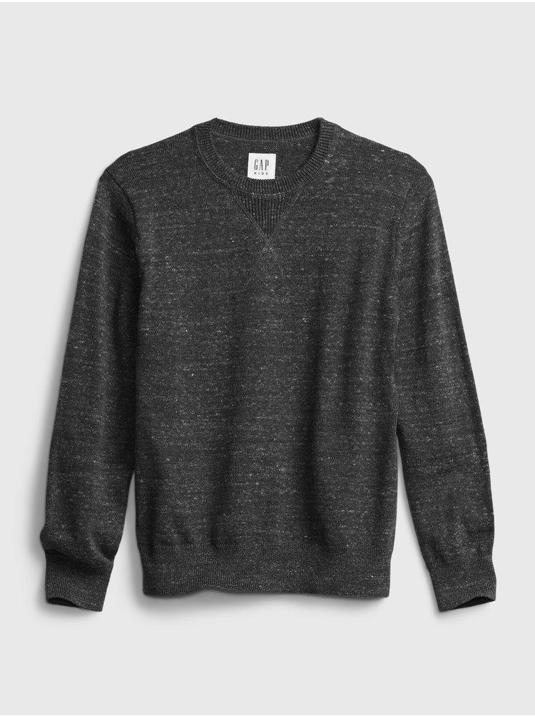 Čierny chlapčenský sveter GAP