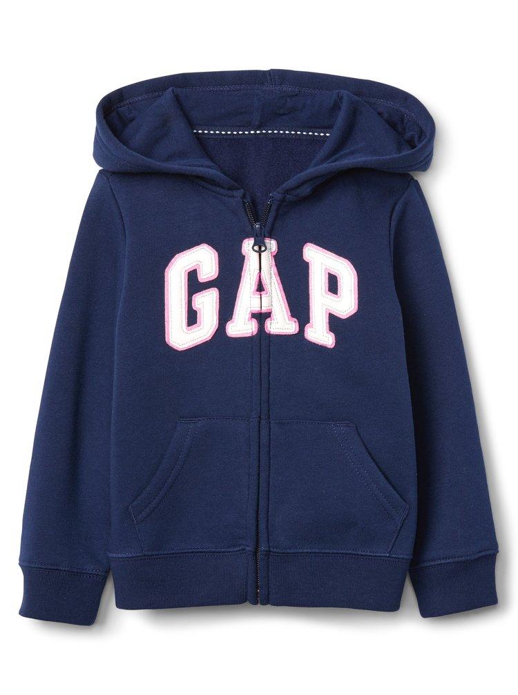 Modrá dievčenská mikina GAP logo