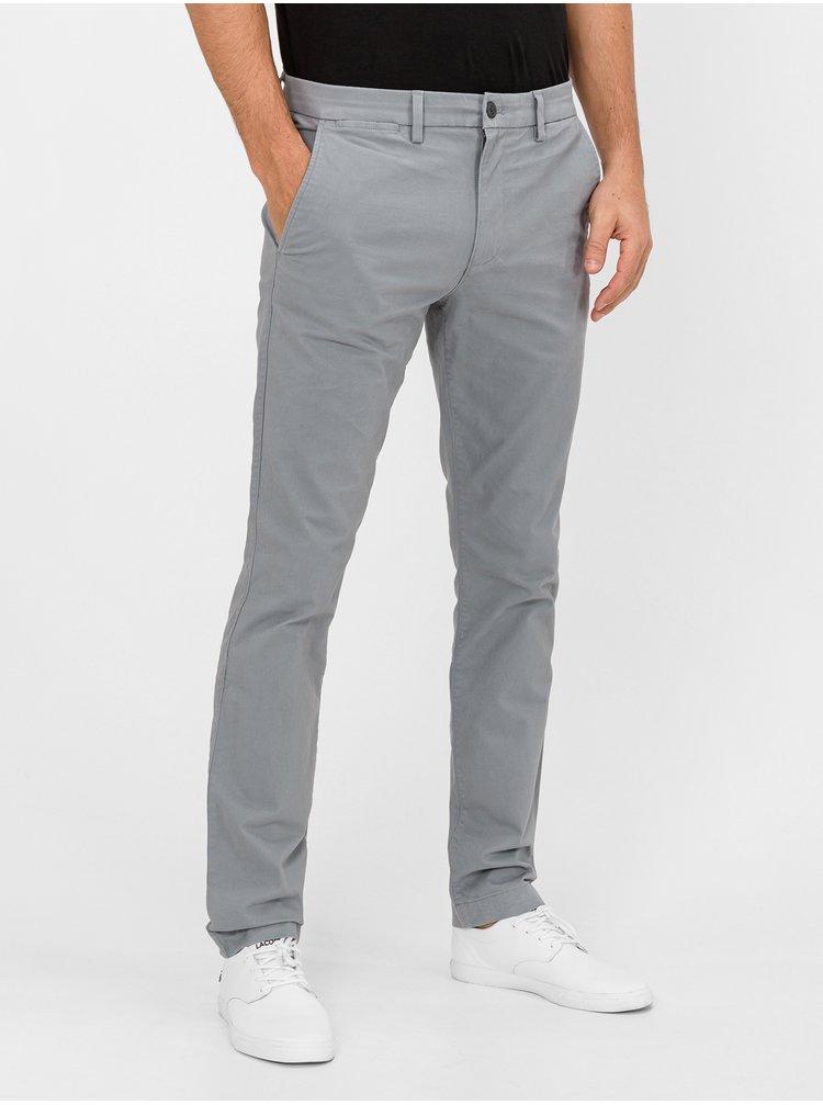 Šedé pánské kalhoty GAP Skinny