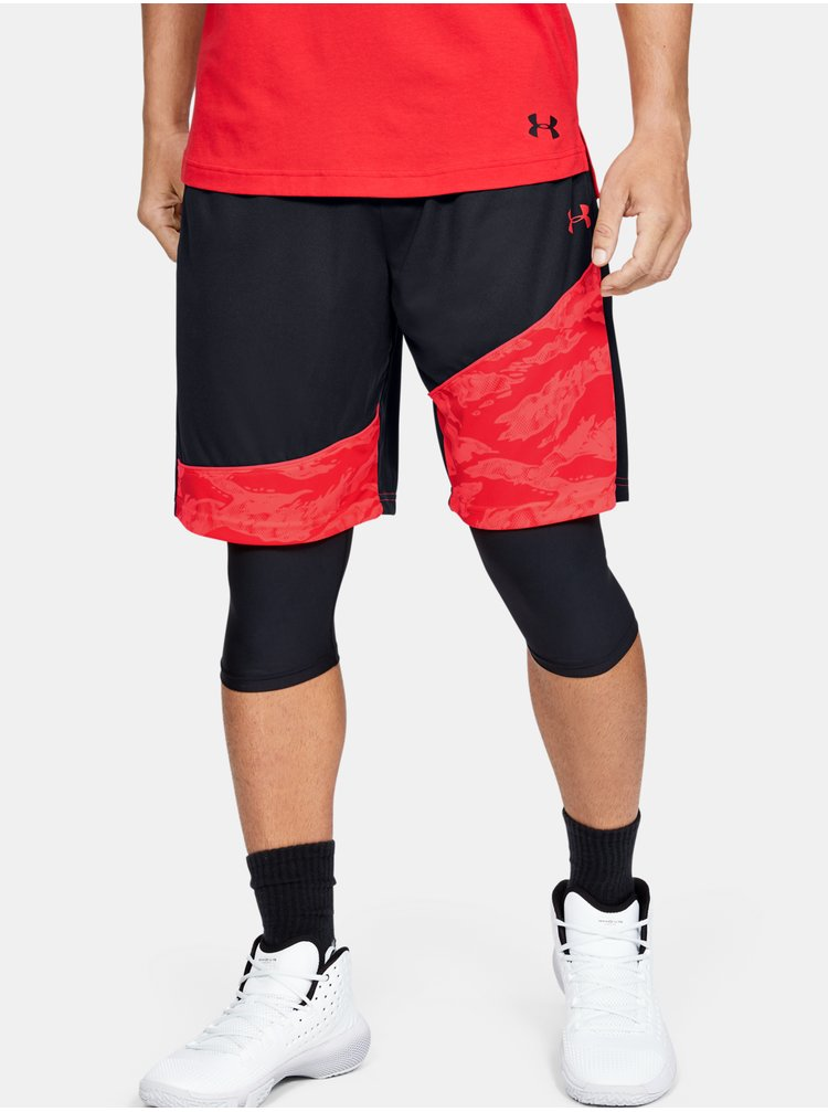 Čierné kraťasy Under Armour Baseline 10IN Short