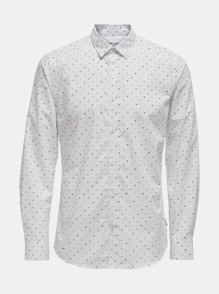 Bílá košile ONLY & SONS