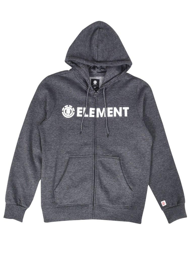 Element BLAZIN CHARCOAL HEATHER mikiny přes hlavu pánská - šedá