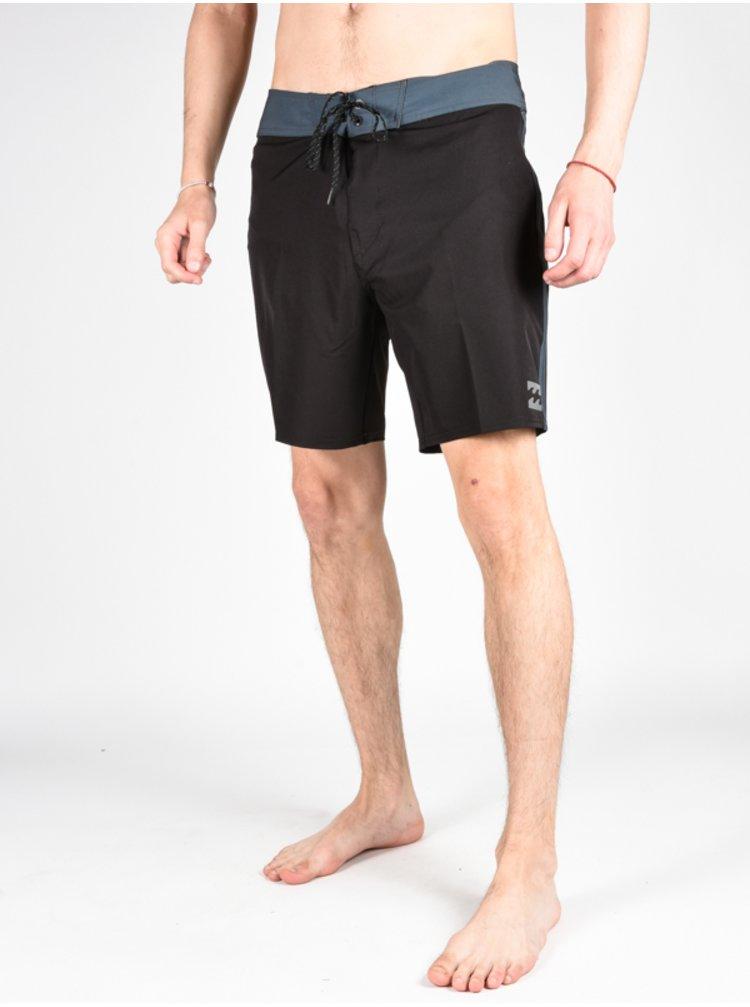 Billabong ALL DAY X 17 black pánské kraťasové plavky - černá