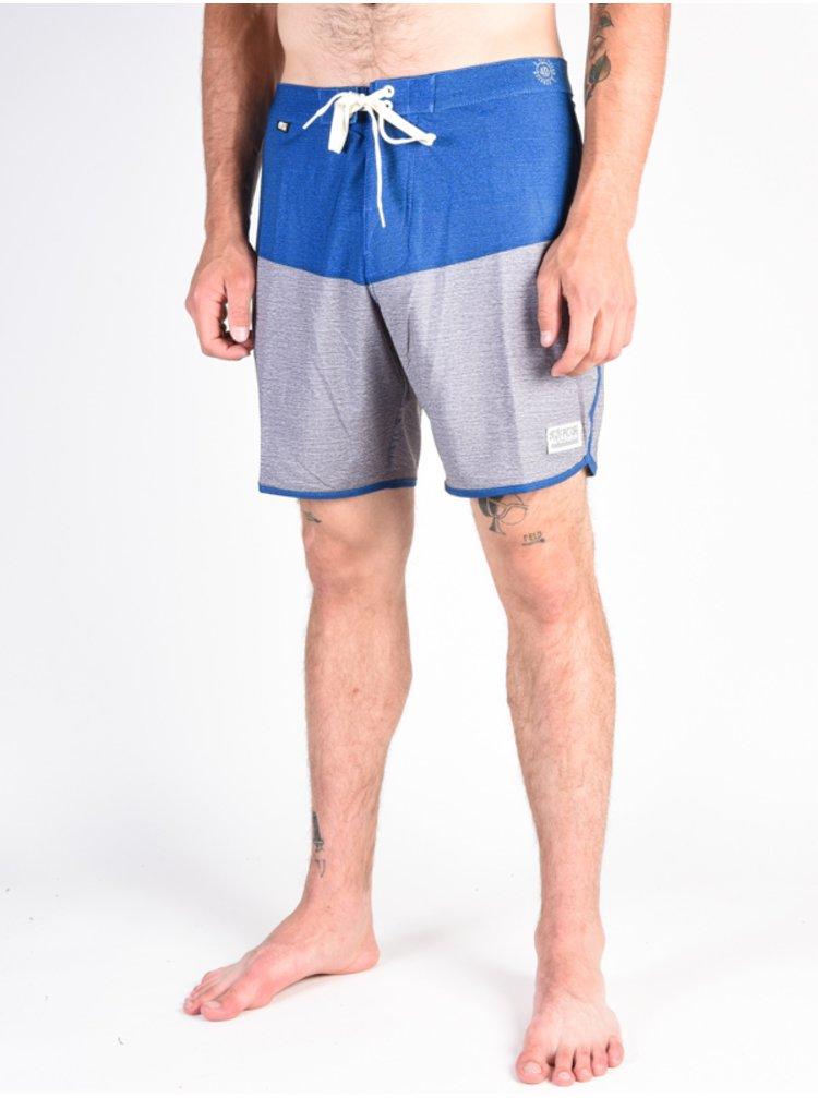 Picture Andy 17 GREY MELANGE pánské kraťasové plavky - šedá