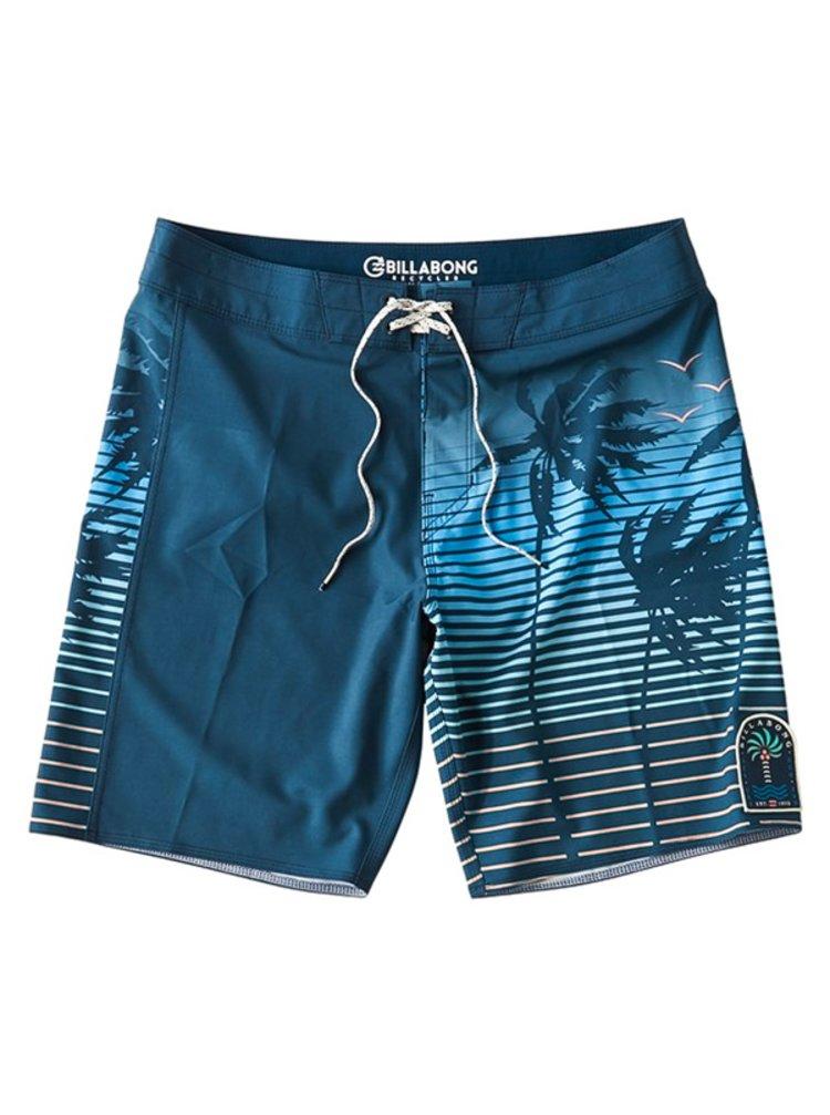 Billabong DBAH AIRLITE dark blue pánské kraťasové plavky - modrá