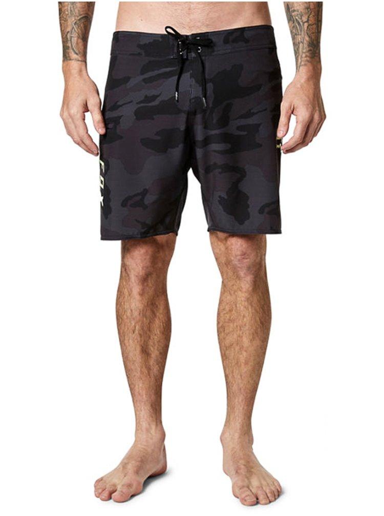 Fox Overhead Camo Stretc Black Camor pánské kraťasové plavky - černá