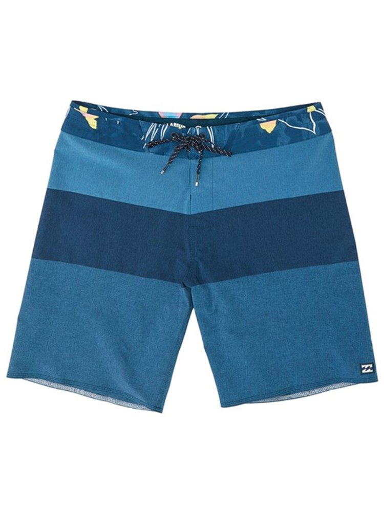 Billabong TRIBONG AIRLITE NAVY HEATHER pánské kraťasové plavky - modrá