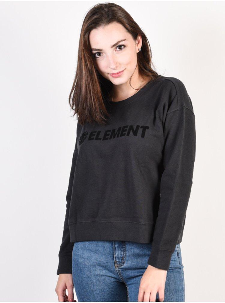 Element LOGO OFF BLACK mikina dámská - černá
