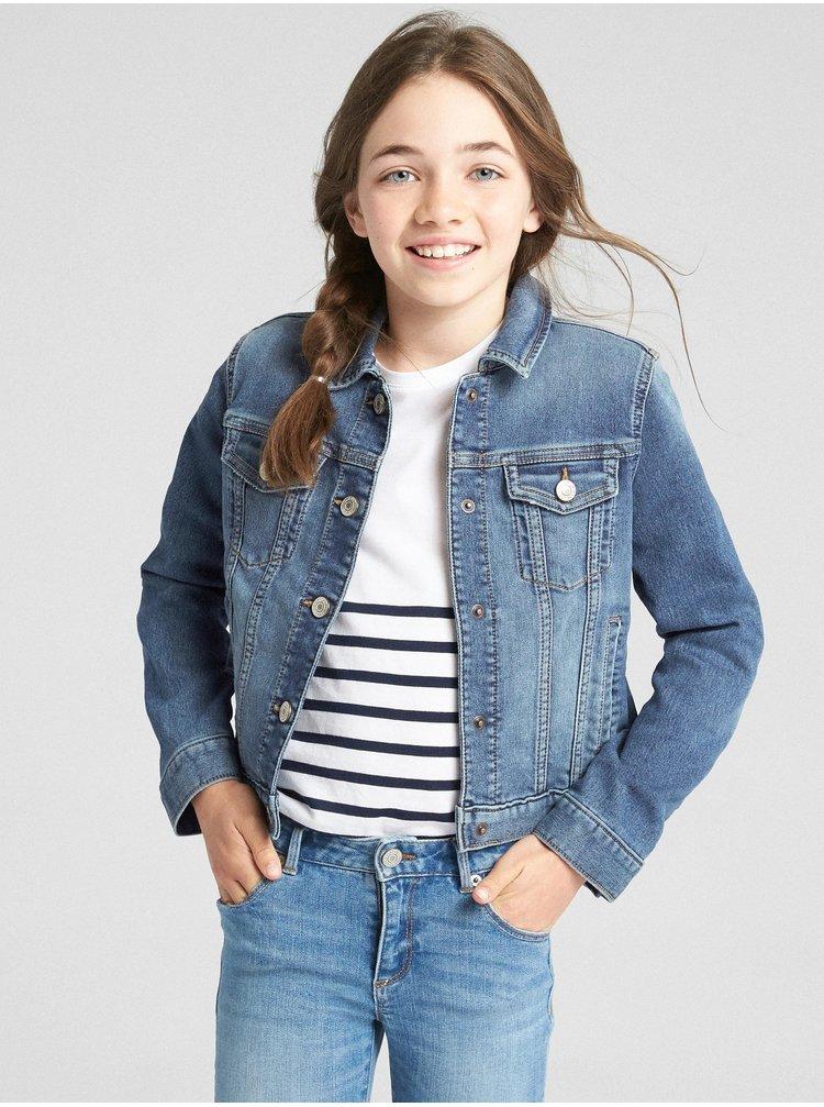 Džínsová bunda GAP Modrá