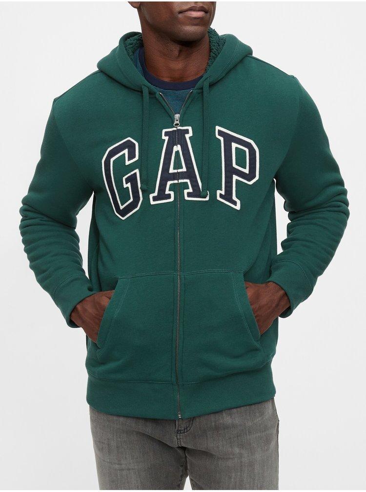 Mikina GAP Logo Zelená
