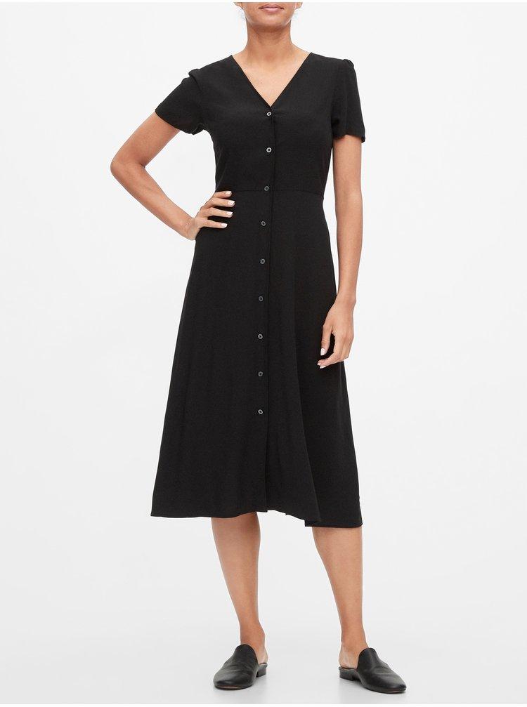 Čierne dámske šaty GAP
