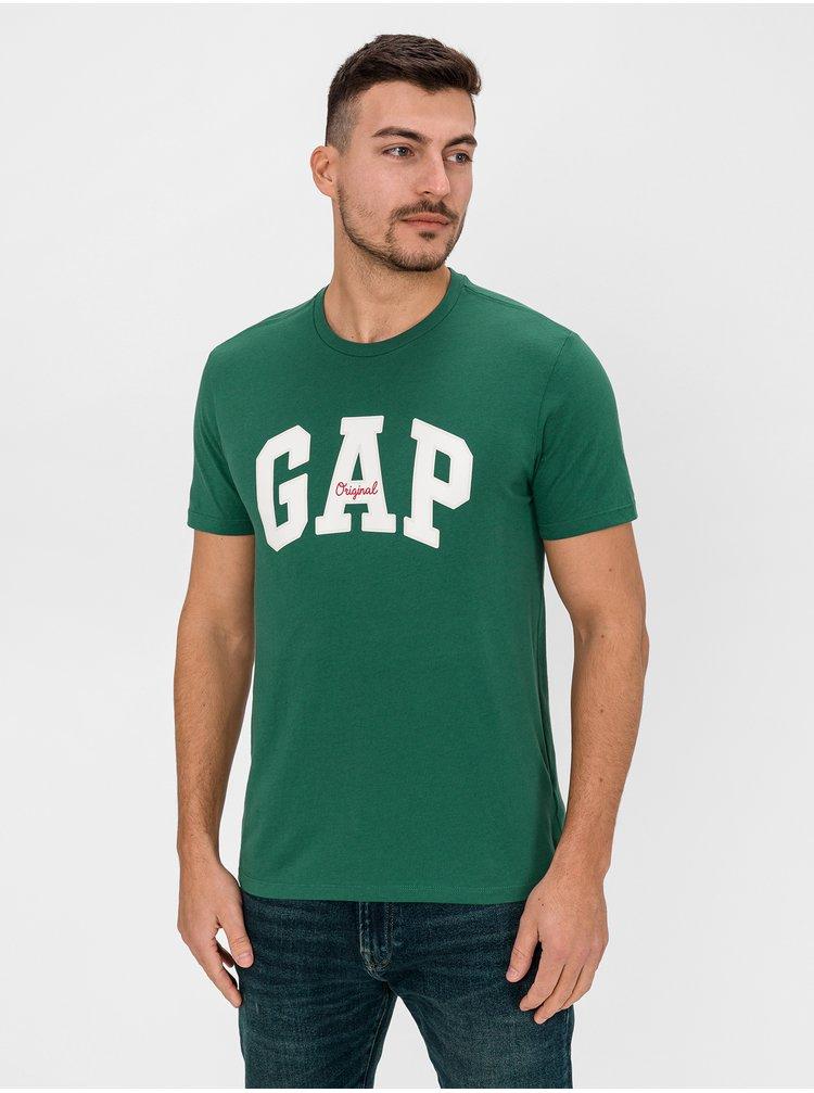 Zelené pánske tričko GAP Logo