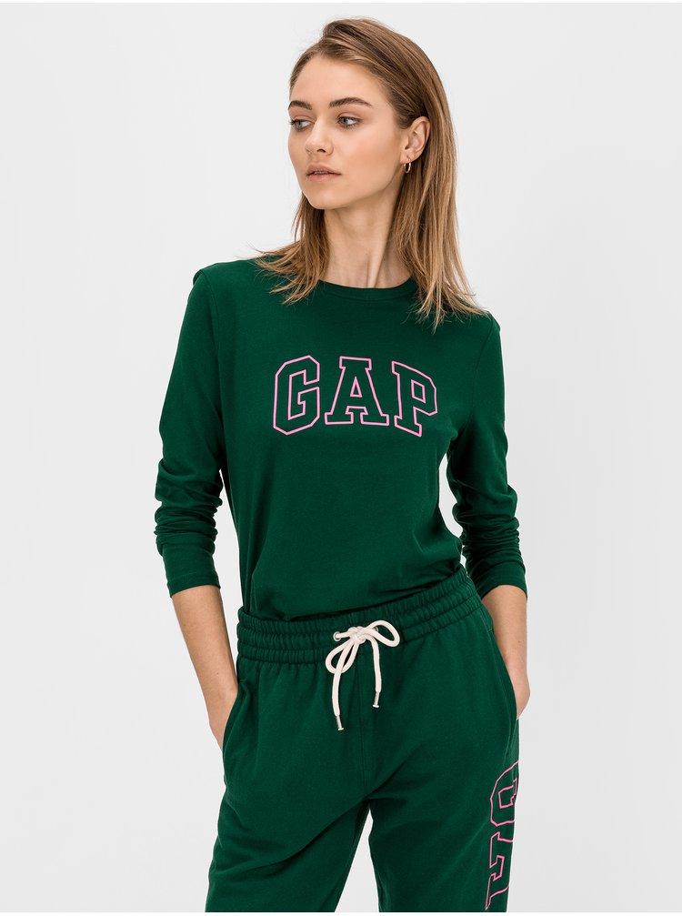 Zelené dámské tričko GAP Logo