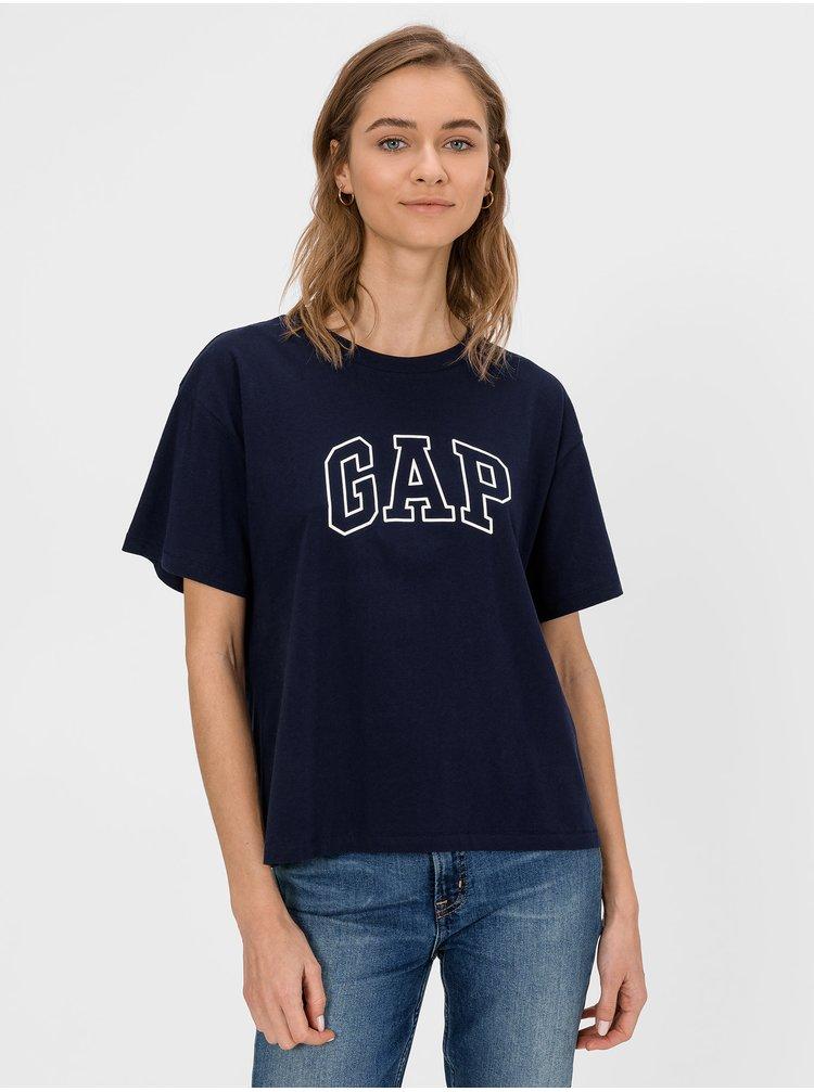 Modré dámske tričko GAP Logo