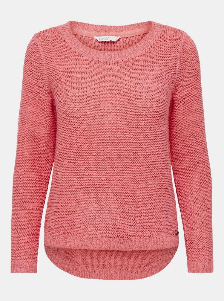 Růžový svetr ONLY