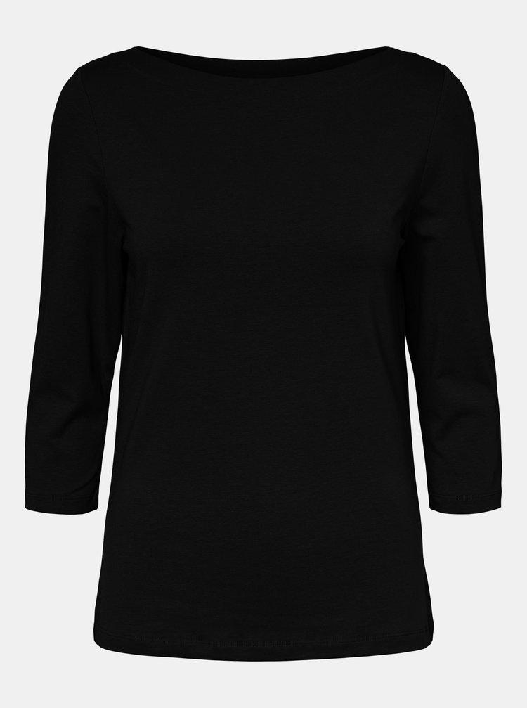 Čierne basic tričko VERO MODA