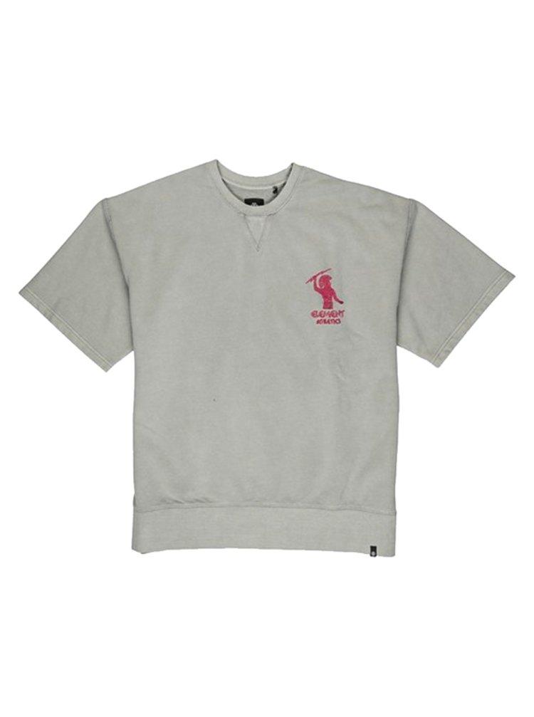 Element NO PAIN QUARRY pánské triko s krátkým rukávem - šedá