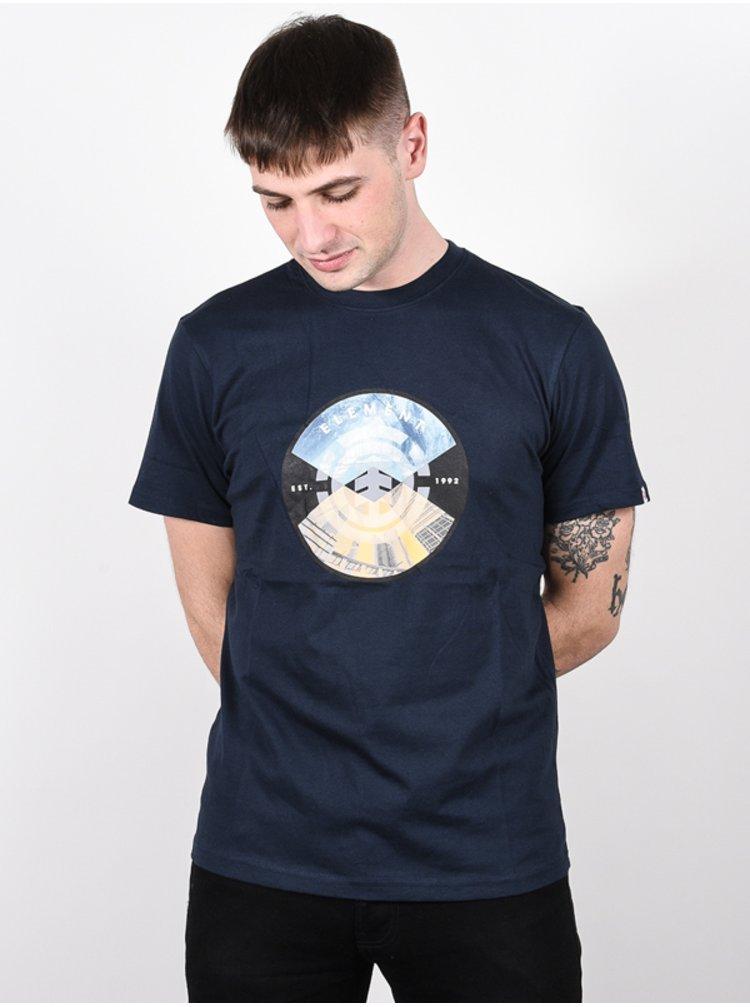 Element AIKEN ECLIPSE NAVY pánské triko s krátkým rukávem - modrá