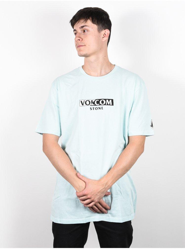 Volcom For Never Resin Blue pánské triko s krátkým rukávem - modrá