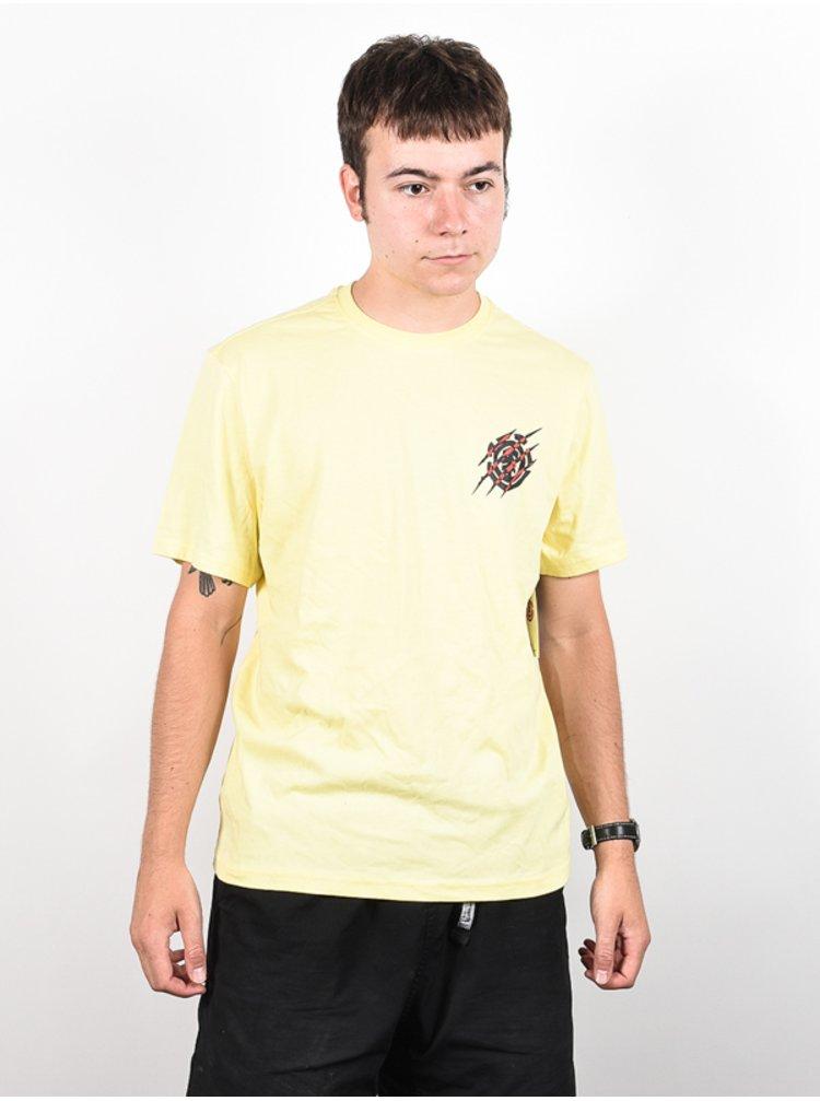 Element BLACK PANTHER POPCORN pánské triko s krátkým rukávem - žlutá