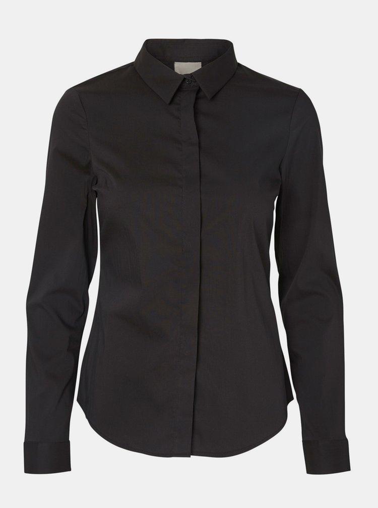 Černá košile VERO MODA