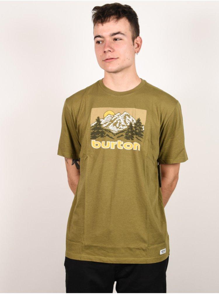 Burton WEIR MARTINI OLIVE pánské triko s krátkým rukávem - khaki