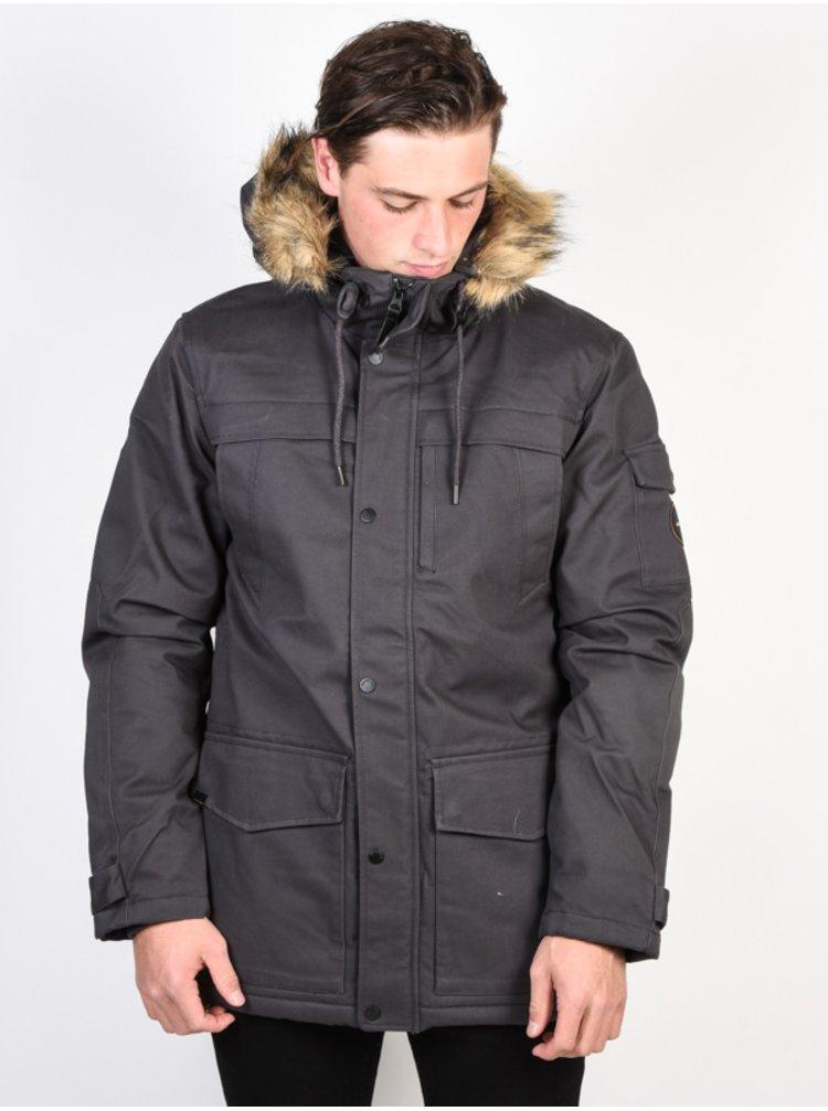 Quiksilver STORM DROP 5K TARMAC zimní pánská bunda - šedá