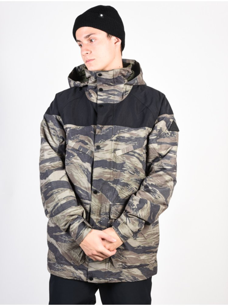 Burton BREACH TRUBLK/OGWNTG zimní pánská bunda - šedá