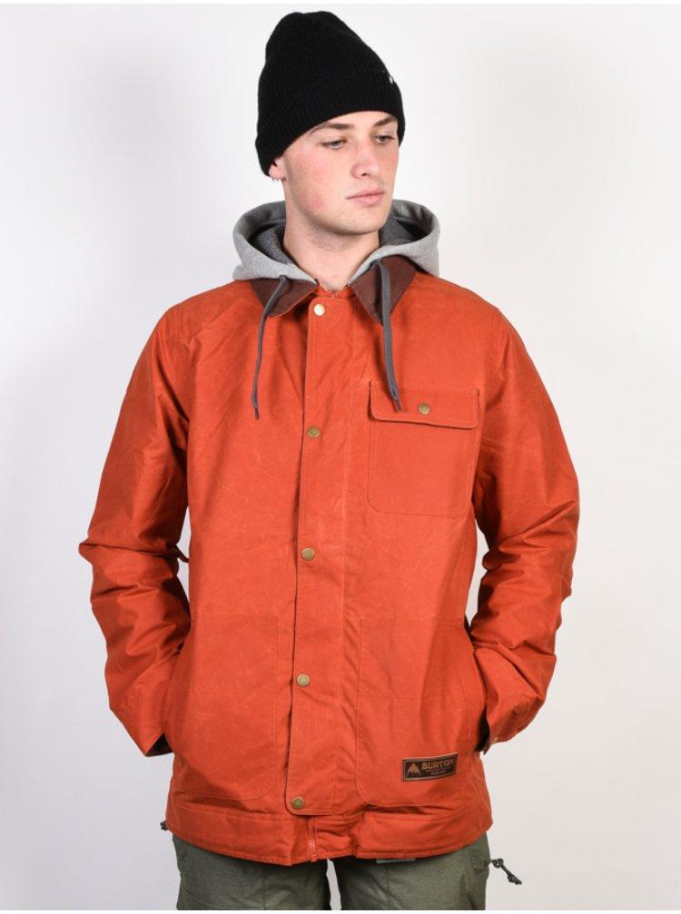 Burton MB DUNMORE CLAY zimní pánská bunda - červená