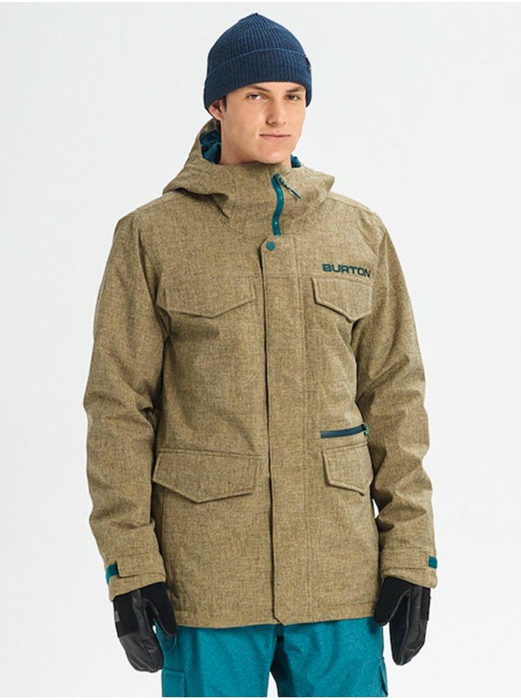 Burton COVERT KELP HEATHER zimní pánská bunda - zelená
