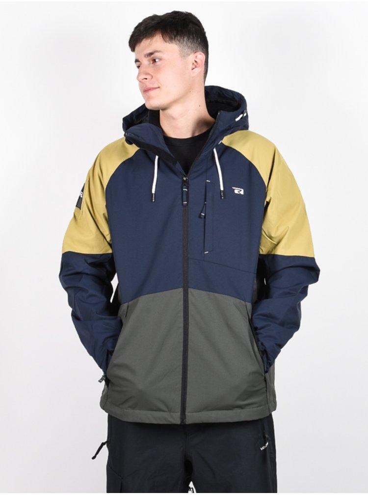 Rehall FLOW STONE zimní pánská bunda - šedá