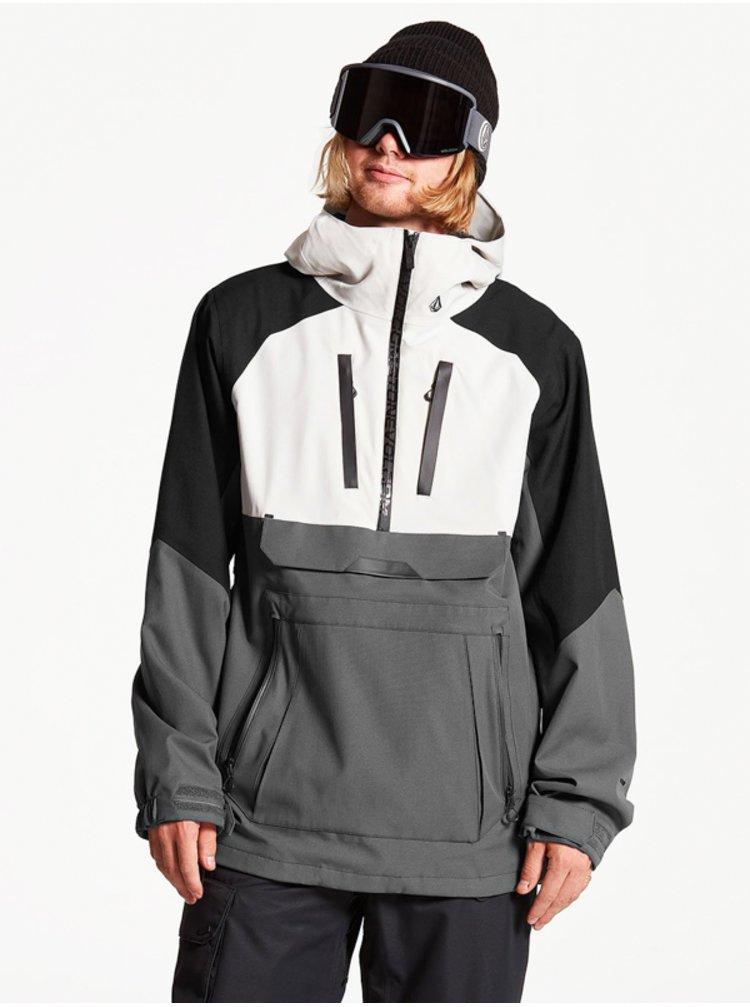 Volcom Brighton GREY zimní pánská bunda - šedá