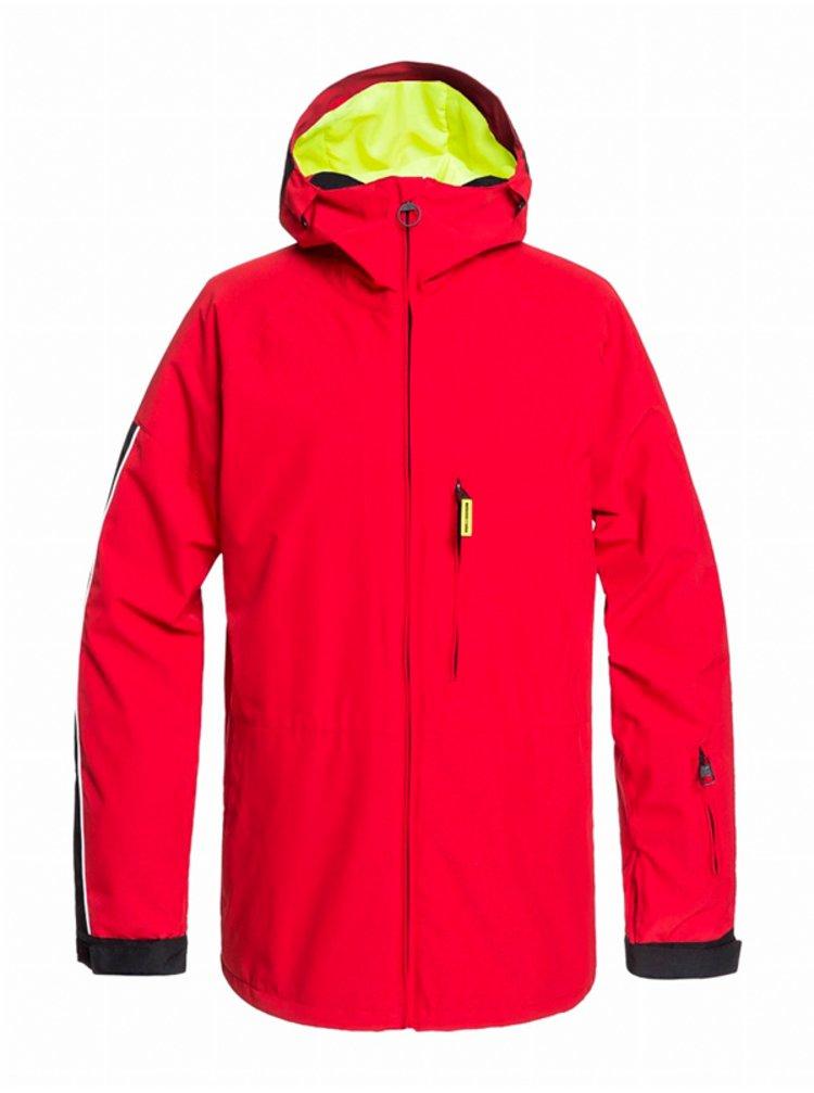 Dc RETROSPECT RACING RED zimní pánská bunda - červená