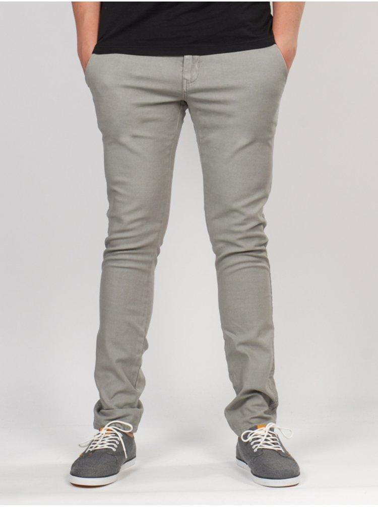 Ezekiel Weekender GRY plátěné kalhoty pánské - šedá