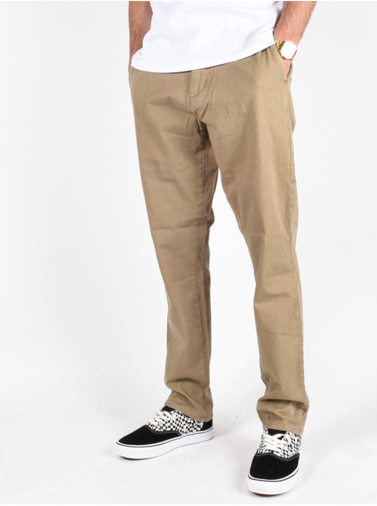 Billabong NEW ORDER CHINO GRAVEL plátěné kalhoty pánské - hnědá