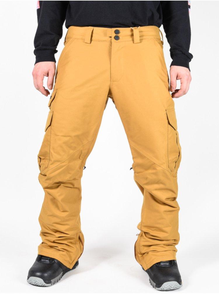 Burton CARGO WOOD THRUSH pánské zimní kalhoty - béžová