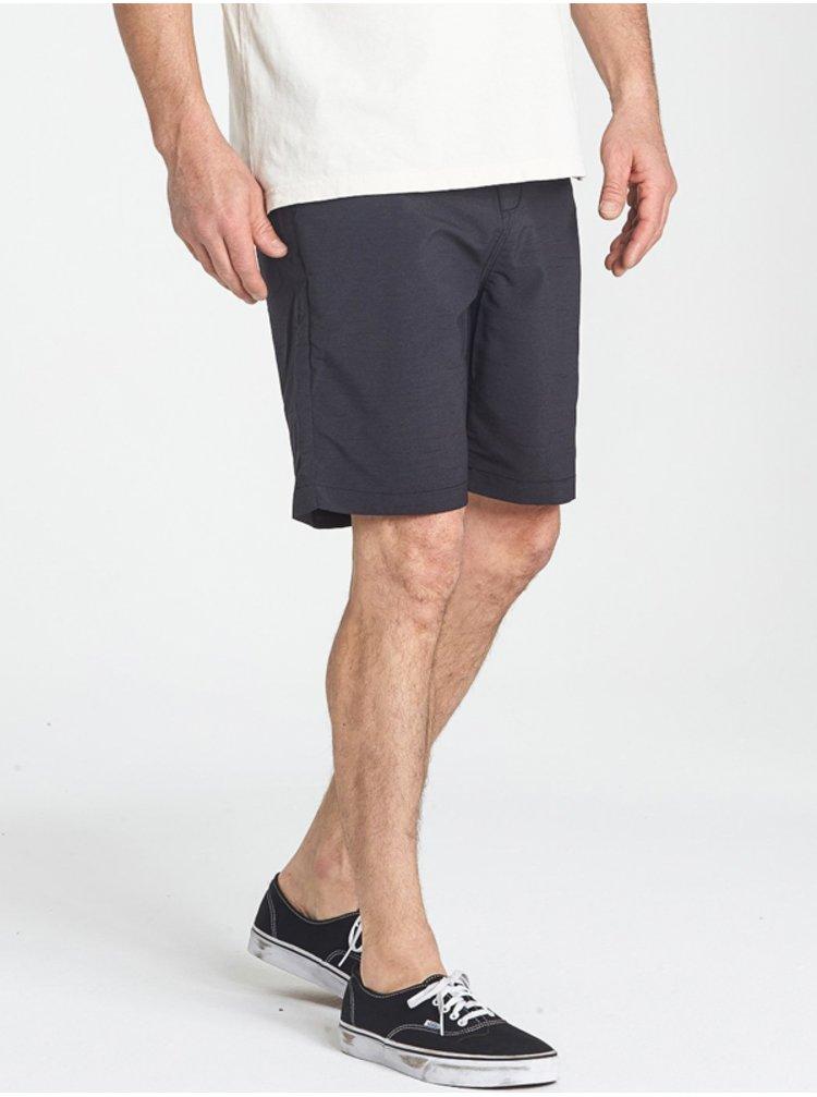 Billabong SURFTREK WICK black plátěné kraťasy pánské - šedá