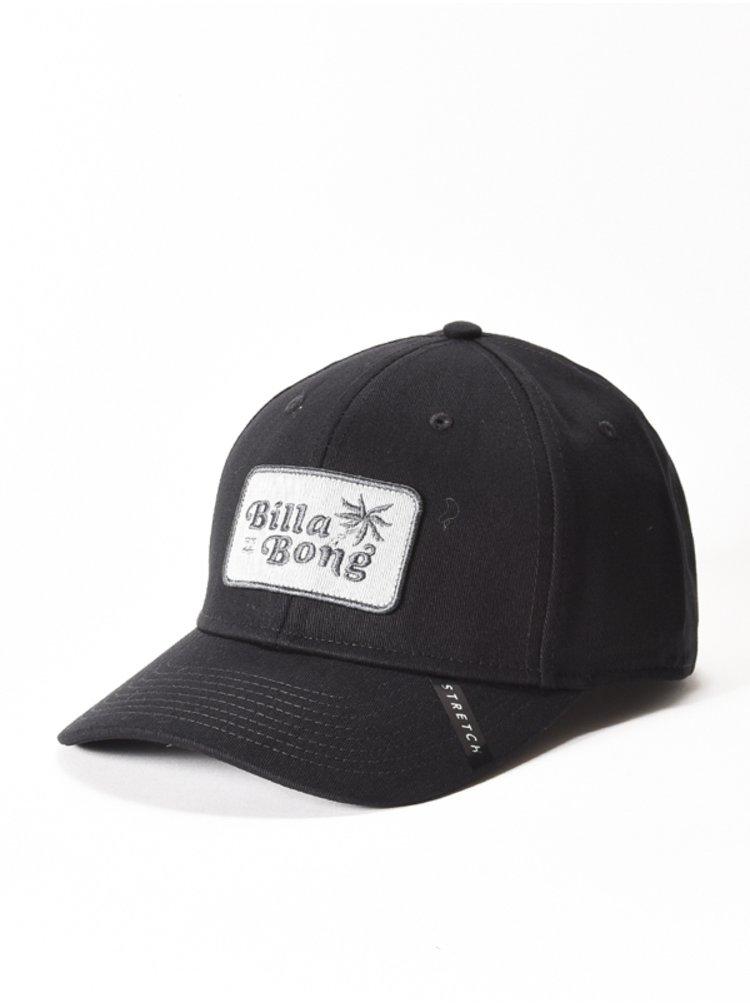 Billabong WALLED black baseballová kšiltovka - černá