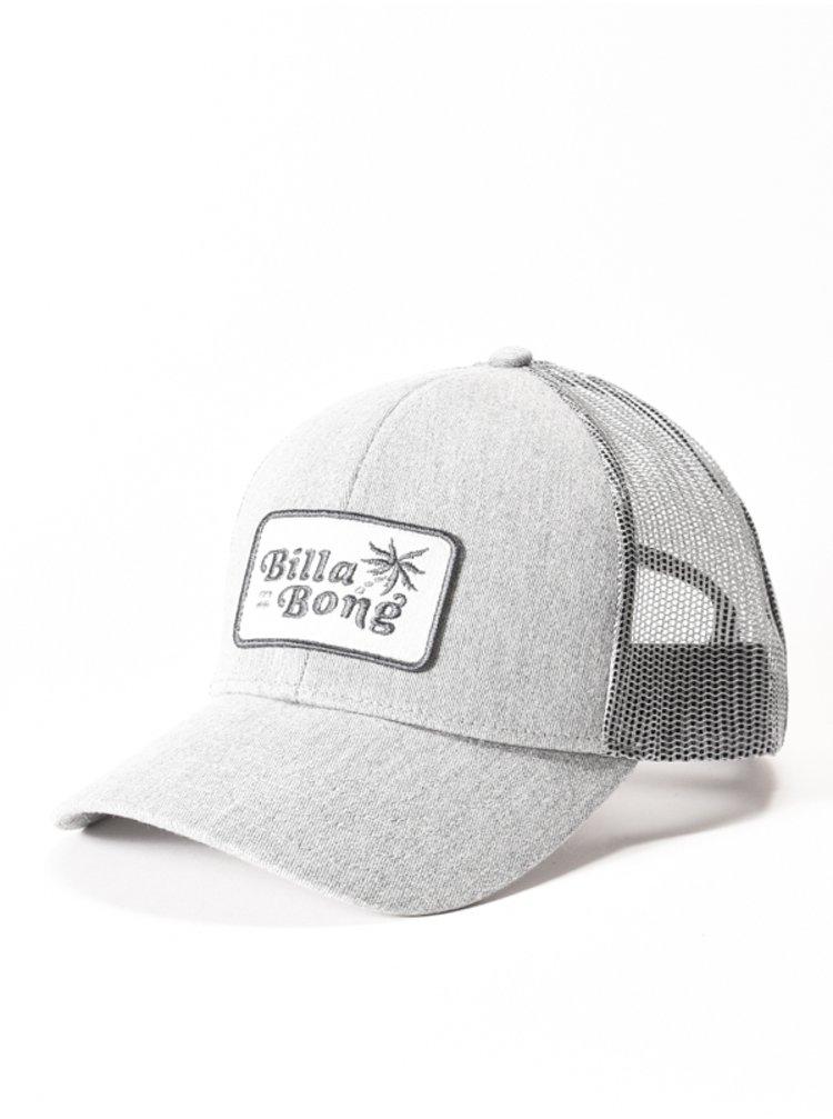 Billabong WALLED TRUCKER HEATHER GREY baseballová kšiltovka - šedá
