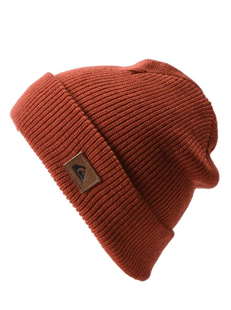 Quiksilver PERFORMED BARN RED HEATHER pánská čepice - červená