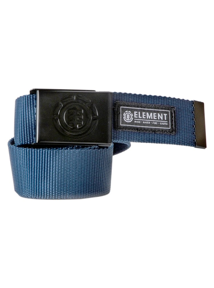 Element BEYOND midnight blue pánský pásek - modrá